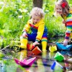 Buddelhosen für Kinder