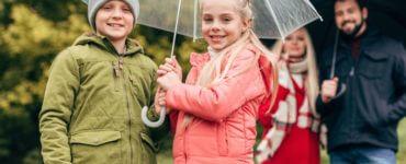 Wetterfeste Jacken fuer Kinder